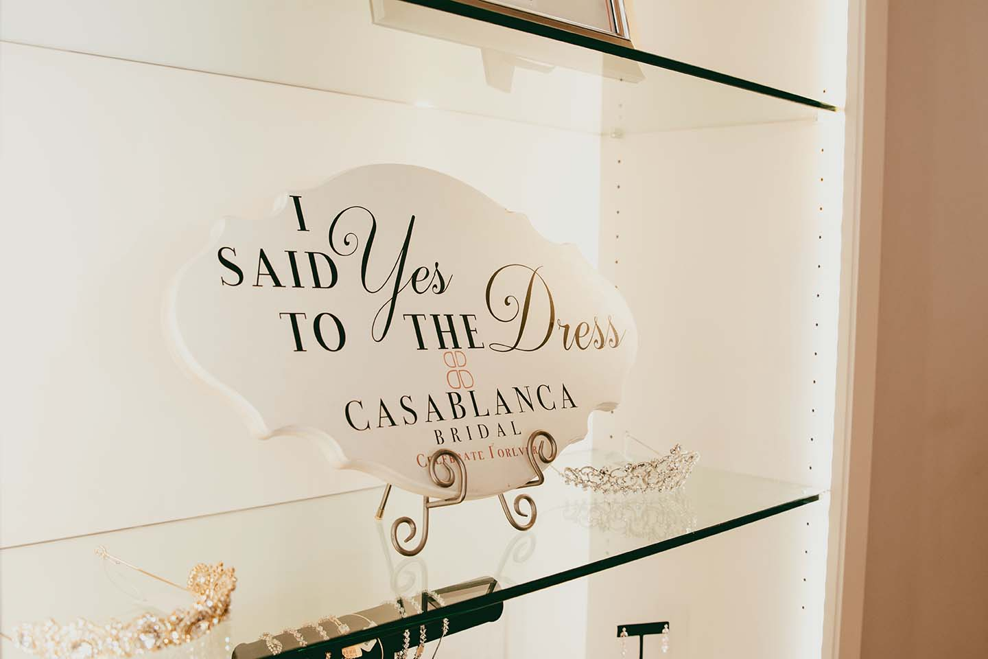 I SAID Yes TO THE Dress. Casablanca Bridal