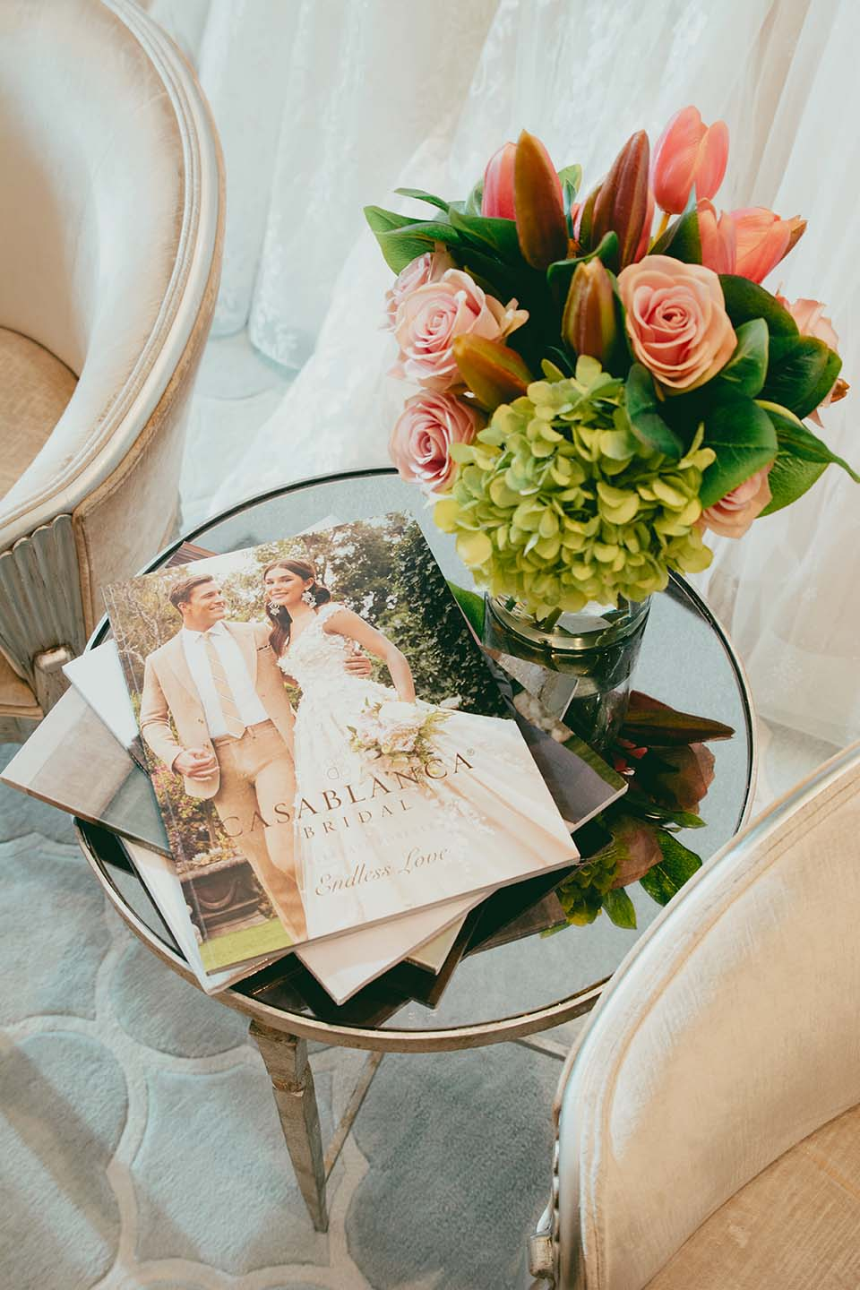 Casablanca Bridal. Endless Love. Journal